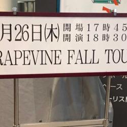 GRAPEVINE FALL TOUR 中野サンプラザ 2019.9.26