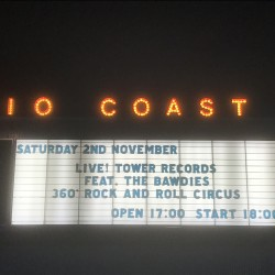 """TOWER RECORDS 40th anniversary LIVE! TO\ワー/RECORDS feat. THE BAWDIES 〜360° Rock and Roll Circus〜""  新木場STUDIO COAST 2019.11.2"