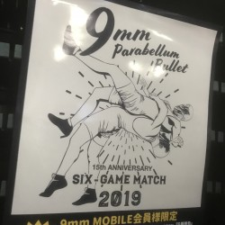 9mm Parabellum Bullet 〜15th Anniversary〜 「6番勝負」 浜松窓枠 2019.6.14
