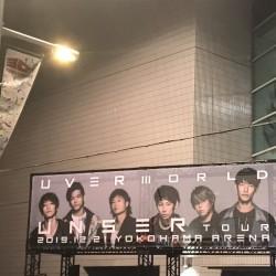 UVERworld UNSER TOUR 〜TAKUYA∞生誕祭〜 横浜アリーナ 2019.12.21