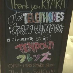 the telephones presents 「Thank you KYARA」 北浦和KYARA 2020.1.21