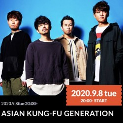ASIAN KUNG-FU GENERATION 「Dive Connect」 KT Zepp Yokohama 2020.9.8