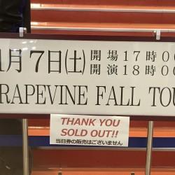 GRAPEVINE FALL TOUR 2020 中野サンプラザ 2020.11.7