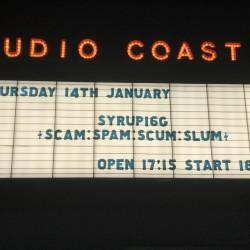 Syrup16g [SCAM:SPAM:SCUM:SLUM] 新木場STUDIO COAST 2021.1.14